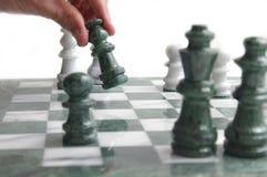 κίνηση σκακιού Στοκ φωτογραφία με δικαίωμα ελεύθερης χρήσης