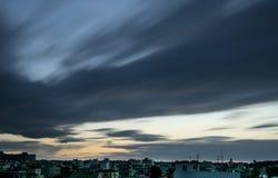 κίνηση σύννεφων Στοκ Φωτογραφία