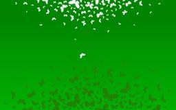 Κίνηση των πεταλούδων Στοκ εικόνα με δικαίωμα ελεύθερης χρήσης