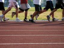 κίνηση joggers Στοκ Φωτογραφία