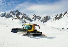 κίνηση snowcat στοκ φωτογραφία με δικαίωμα ελεύθερης χρήσης