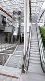 Κίνηση staircale και ανελκυστήρας Στοκ Φωτογραφίες