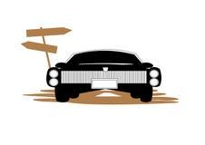 Κίνδυνος αυτοκινήτων Στοκ Φωτογραφία