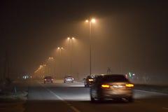 Κίνδυνος ελαφριάς ομίχλης στη Μαλαισία Στοκ φωτογραφία με δικαίωμα ελεύθερης χρήσης
