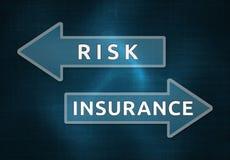 Κίνδυνος και ασφάλεια απεικόνιση αποθεμάτων