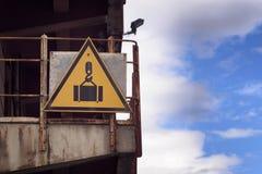 κίνδυνος περισσότερο η προειδοποίηση σημαδιών σημαδιών χαρτοφυλακίων μου Στοκ Εικόνες