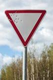 Κίνδυνος στην οδό Στοκ εικόνα με δικαίωμα ελεύθερης χρήσης