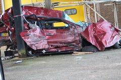 Κίνδυνος του χώρου στάθμευσης Στοκ εικόνα με δικαίωμα ελεύθερης χρήσης