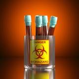 Κίνδυνος biohazard Στοκ εικόνες με δικαίωμα ελεύθερης χρήσης