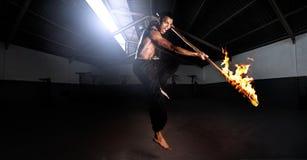 κίνδυνος fu kung Στοκ Εικόνες