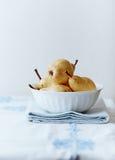Κίτρινα αχλάδια Στοκ Φωτογραφίες