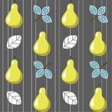 Κίτρινα αχλάδια Στοκ εικόνα με δικαίωμα ελεύθερης χρήσης