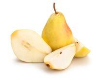 Κίτρινα αχλάδια Στοκ Εικόνες