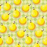 Κίτρινα αχλάδια διανυσματική απεικόνιση