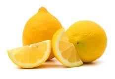 Κίτρινα λεμόνια Στοκ εικόνα με δικαίωμα ελεύθερης χρήσης