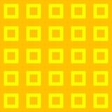 Κίτρινα και πορτοκαλιά τετράγωνα Στοκ εικόνες με δικαίωμα ελεύθερης χρήσης