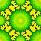 Κίτρινα και πράσινα συνδυασμένα διαφανή ορθογώνια επάνω διανυσματική απεικόνιση