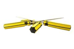 Κίτρινα κατσαβίδια Στοκ Εικόνα