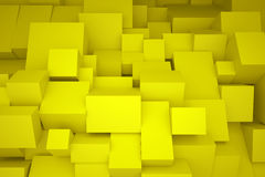 Κίτρινα κιβώτια Στοκ φωτογραφίες με δικαίωμα ελεύθερης χρήσης