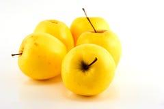 Κίτρινα μήλα Στοκ φωτογραφίες με δικαίωμα ελεύθερης χρήσης