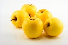 Κίτρινα μήλα Στοκ φωτογραφία με δικαίωμα ελεύθερης χρήσης