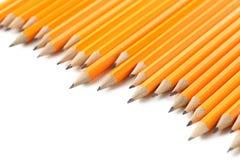 Κίτρινα μολύβια Στοκ Εικόνες