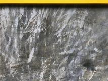 Κίτρινα ξύλινα άκρη και σκυρόδεμα κατασκευασμένες απεικόνιση αποθεμάτων