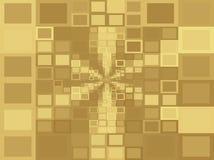 Κίτρινα τετραγωνικά υπόβαθρα στοκ εικόνες