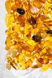 Κίτρινες ηλέκτρινες πέτρες Στοκ Εικόνα