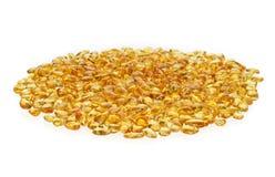 Κίτρινες ηλέκτρινες πέτρες Στοκ Εικόνες