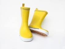 Κίτρινες μπότες Στοκ Εικόνα