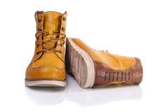 Κίτρινες μπότες Στοκ φωτογραφία με δικαίωμα ελεύθερης χρήσης