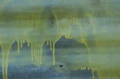 Κίτρινες σταλαγματιές Στοκ Εικόνες