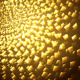 Κίτρινες φωτεινές λάμψεις Στοκ φωτογραφία με δικαίωμα ελεύθερης χρήσης