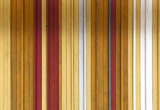 Κίτρινη, άσπρη και γκρίζα χρωματισμένη ξύλινη σύσταση υποβάθρου με το VE Στοκ Εικόνα