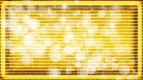 Κίτρινη ανασκόπηση με τους κύκλους ελεύθερη απεικόνιση δικαιώματος