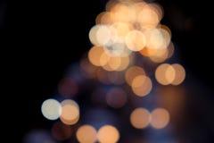 Κίτρινη ανασκόπηση Bokeh Στοκ φωτογραφίες με δικαίωμα ελεύθερης χρήσης