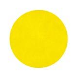 Κίτρινη αυτοκόλλητη ετικέττα πώλησης γκαράζ Στοκ εικόνα με δικαίωμα ελεύθερης χρήσης