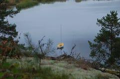 Κίτρινη βάρκα Στοκ εικόνες με δικαίωμα ελεύθερης χρήσης