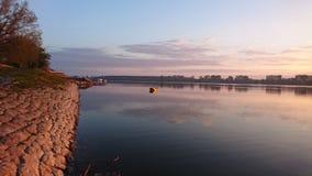 Κίτρινη βάρκα Στοκ Φωτογραφίες