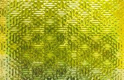 Κίτρινη βιομηχανική σύσταση γυαλιού Στοκ Φωτογραφίες