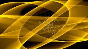 Κίτρινη δύναμη, απόκρυφη αφηρημένη ζωτικότητα για την πνευματική θεραπεία και ενεργειακή λήψη ελεύθερη απεικόνιση δικαιώματος