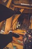 Κίτρινη διασκέδαση Στοκ Φωτογραφία