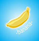 Κίτρινη και ώριμη μπανάνα απεικόνιση αποθεμάτων