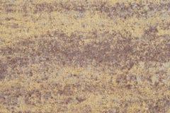 Κίτρινη καφετιά πέτρα αφαίρεση Στοκ Φωτογραφίες