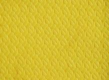 Κίτρινη κουβέρτα πολυουρεθάνιου στοκ εικόνα με δικαίωμα ελεύθερης χρήσης