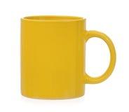 Κίτρινο φλυτζάνι Στοκ φωτογραφία με δικαίωμα ελεύθερης χρήσης