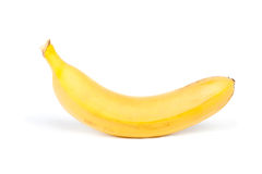 Κίτρινη μπανάνα Στοκ φωτογραφία με δικαίωμα ελεύθερης χρήσης