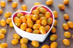 Κίτρινη ντομάτα Στοκ Φωτογραφία