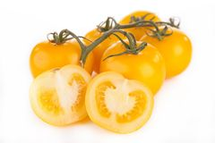 Κίτρινη ντομάτα Στοκ Εικόνες